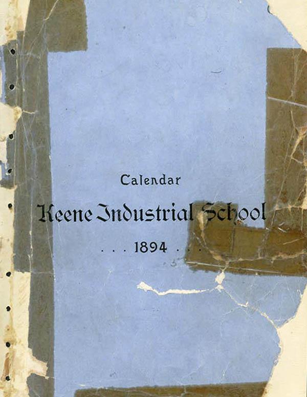 Keene Industrial Academy Bulletin