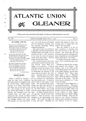 Atlantic Union Gleaner | June 1, 1904