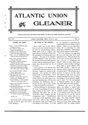 Atlantic Union Gleaner | June 8, 1904