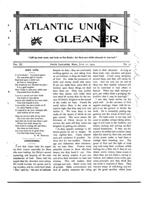 Atlantic Union Gleaner | June 22, 1904