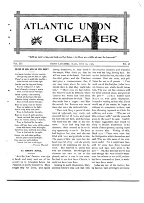 Atlantic Union Gleaner | June 29, 1904