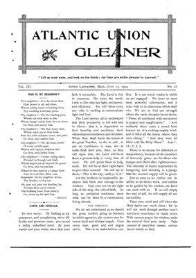 Atlantic Union Gleaner | July 13, 1904