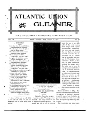 Atlantic Union Gleaner | August 10, 1904