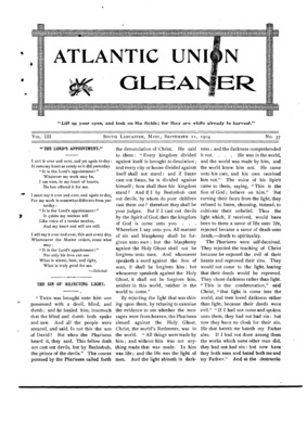 Atlantic Union Gleaner | September 21, 1904