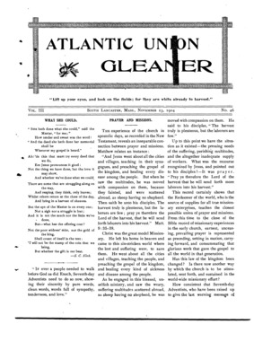 Atlantic Union Gleaner | November 23, 1904