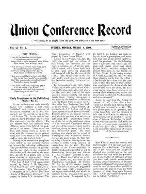 811cb161ad9 Union Conference Record | March 1, 1909