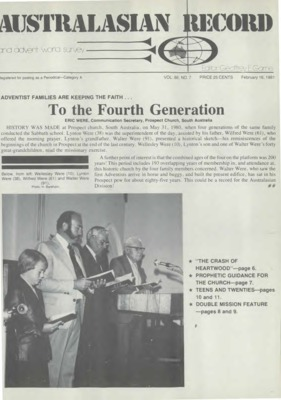 f1e740d3af Australasian Record and Advent World Survey | February 16, 1981