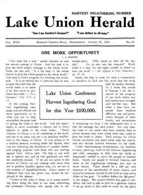88c284ee Lake Union Herald | August 26, 1925