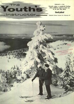 SKI-1JW Snow Ski Skiers on Mountain Girls//Ladies Denim Purse Wallet Christmas G