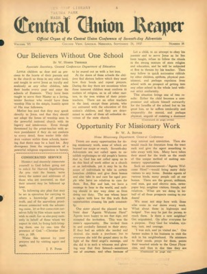 The Central Union Reaper | September 28, 1937