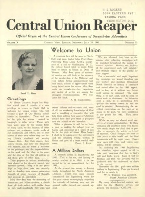 The Central Union Reaper | July 29, 1941