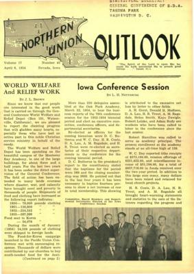 8c1552845c4 Northern Union Outlook | April 6, 1954