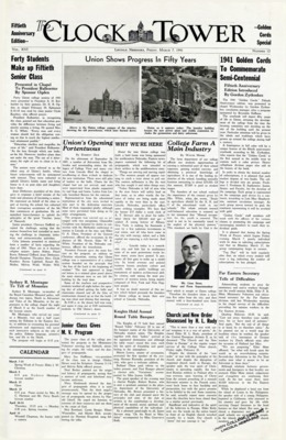 The Clock Tower | March 7, 1941
