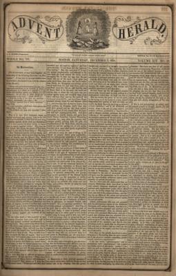 2eec256a69b The Advent Herald | December 2, 1854